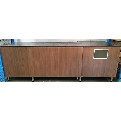 Commercial Buffet/Serving Bench