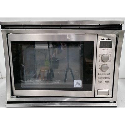 Miele M 635 EG Wall Mount Commercial Microwave Oven