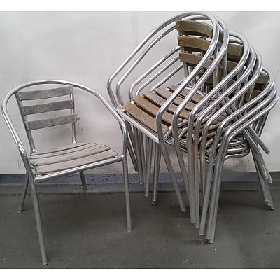 Cafe Chairs - Lot of Nine