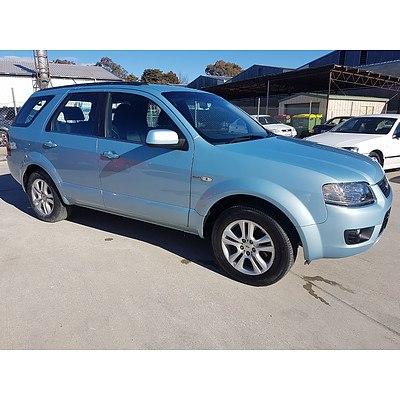 9/2010 Ford Territory TS (4x4) SY MKII 4d Wagon Blue 4.0L