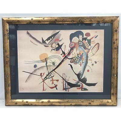 Pair of Wassily Kandinski Offset Prints