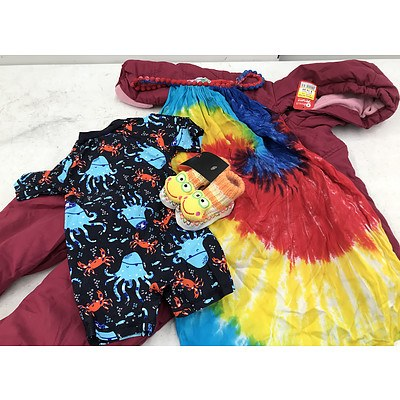 Bulk Lot of Brand New Children's Clothing & Accessories - RRP Over $300