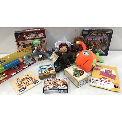 Bulk Lot of Games & Toys - RRP Over $300