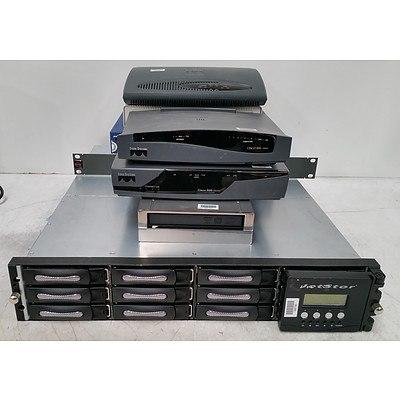 Bulk Lot of Assorted IT Equipment - Printer, Accessories & Networking Equipment