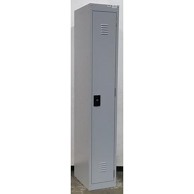 Grey Aurora Storage Cabinet