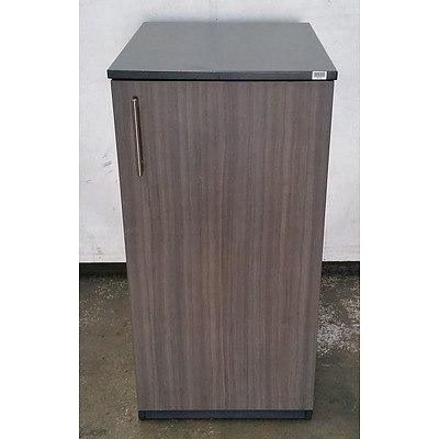 Dark Grey Personal Storage Cabinet