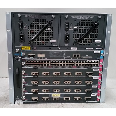 Cisco Catalyst 4506 Series Network Chassis