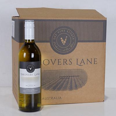 Case of 12x 750ml Bottles 2018 Drovers Lane Semillon Sauvignon Blanc - RRP $240