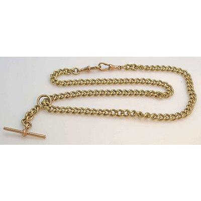 Vintage Albert Watch Chain - curb link