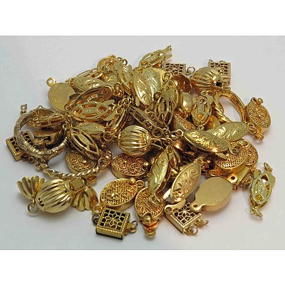 Collection of Pearl Clasps, Shorteners etc