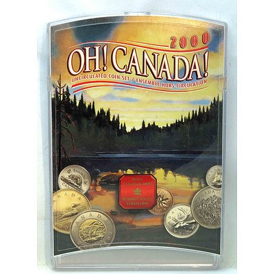 """""""Oh CANADA"""" Coin Mint Set"""