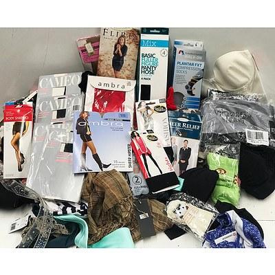 Bulk Lot of Brand New Women's Underwear & Accessories