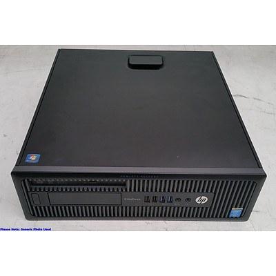HP EliteDesk 800 G1 Core i5 (4690) 3.50GHz Small Form Factor Desktop Computer