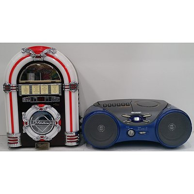 CD & FM Stereo System - Lot Of 2