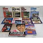 Bulk Lot Of Automotive Service Manuals & V8 Supercar Books.