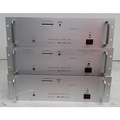 Murray Amplifiers MA528 Appliance - Lot of Three