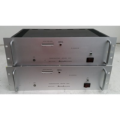 Murray Amplifiers MA528 Appliance - Lot of Two