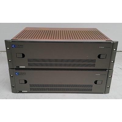 Codan (PV-10) PV Series Modular I/F Frame - Lot of Two