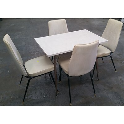 Retro Dinning Table & Chairs