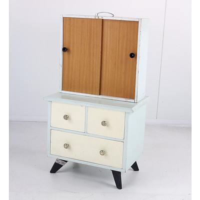 Vintage Children's Dresser of Diminutive Proportions