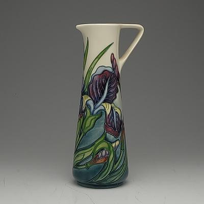 Moorcroft Iris Jug, Collectors Club Piece, Circa 1996