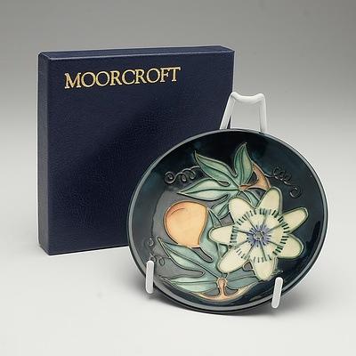 Moorcroft Passion Fruit Pattern Pin Dish, 1997