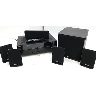 Yamaha HTR-2064 5.1 Surround Sound Home Theatre