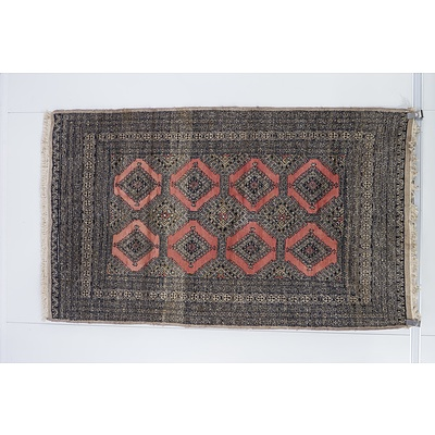 Eastern Bokhara Hand Knotted Wool Pile Rug