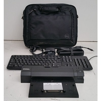 Bulk Lot of Assorted IT Equipment & Accessories - Cables, Docking Stations & Fax Machines