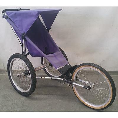 racing strollers Purple super jogger