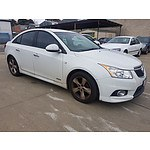 4/2012 Holden Cruze SRi JH MY12 4d Sedan White 1.4L