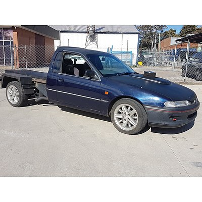 8/1994 Holden Calais VR Ute Blue/Black 6.5L