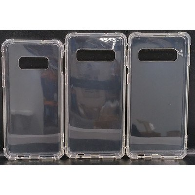 Crystal Clear Soft TPU Bumper Slim Back Phone Cover for Samsung Galaxy S10/S10E/S10 Plus - Lot of 150 - Brand New - RRP $1050.00