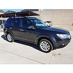 7/2011 Subaru Forester XS Premium MY11 4d Wagon Grey 2.5L