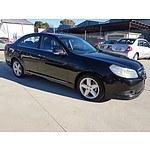 10/2007 Holden Epica CDXi EP 4d Sedan Black 2.5L