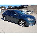 8/2011 Holden Cruze SRi V JH 4d Sedan Blue 1.4L