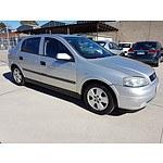 6/2004 Holden Astra CD TS 5d Hatchback Silver 1.8L
