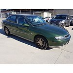 6/2002 Holden Calais  VXII 4d Sedan Green 3.8L
