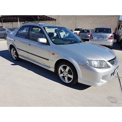 1/2003 Mazda 323 Protege SP20  4d Sedan Silver 2.0L