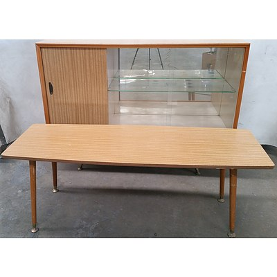 Vintage Retro Sideboard and Coffee Table