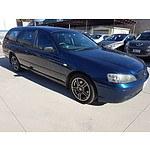 12/2003 Ford Falcon XT BA 4d Wagon Blue 4.0L