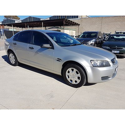 4/2007 Holden Commodore Omega VE 4d Sedan Silver 3.6L