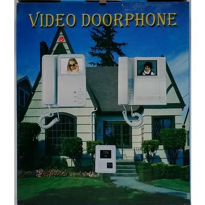 Video Door Phones With Outdoor Camera - Lot of Seven - New