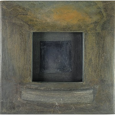 Mary Husted, Speaking the Old Languages 1994, Oil on Wood and Mirror