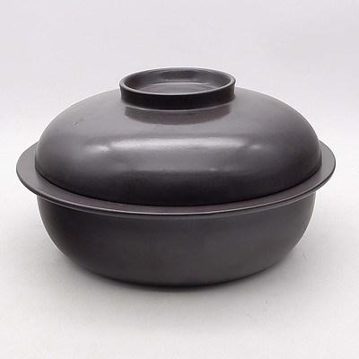 Finnish Arabia Glazed Stoneware Cooking Pot Designed by Ulla Procope