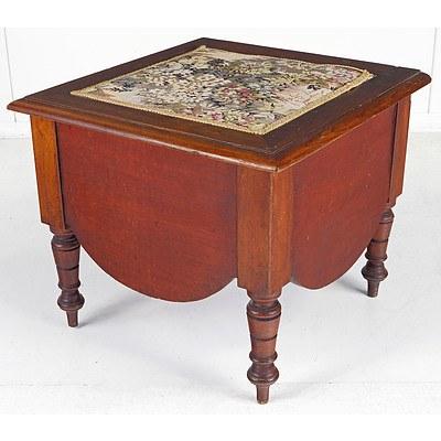 Victorian Mahogany Commode, Late 19th Century