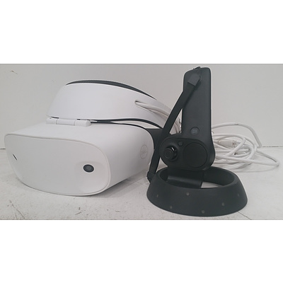 Dell - Visor Virtual Reality Headset and Controller for Compatible Windows PCs