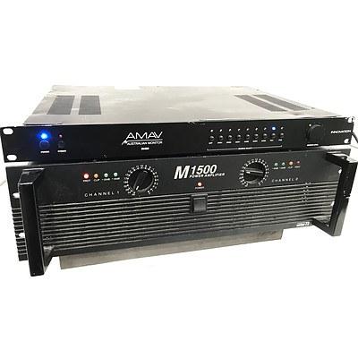 Australian Monitor AV Switching Amplifier & InterM Power Amplifier