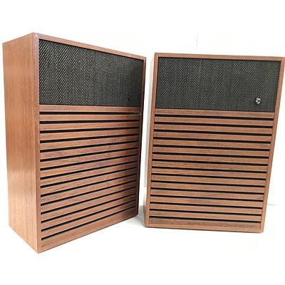 Vintage Philips HiFi Speaker Cabinets