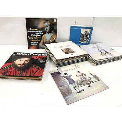 Vinyl Records Classical & More - Approximately 50